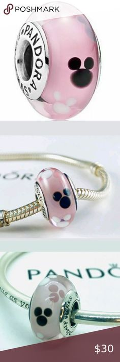 Mickey Mouse USA Charme Bracelet Européen Pendentif Perles Fit 925 Sterling Chaîne