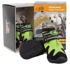 Dog boots can protect your dog's paws from hot pavements in the summer and are also useful in the winter on ice, snow and that nasty salt grit http://www.dfordog.co.uk/all-road-outdoor-dog-boots.html