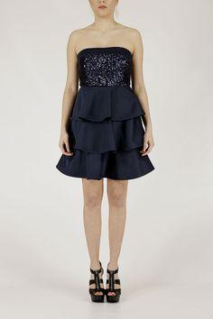 Armani collezione donna NMA61R NM060 918 P/E14 donna abito vestito
