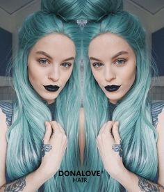 Why not change your hair color with your mood! DONALOVEHAIR is everything!