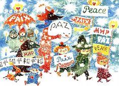 2010年12月22日 【ムーミン】トーベ・ヤンソンの作品集【イラスト・挿絵】  フィンランド出身の作家、トーベ・ヤンソン (Tove Marik...