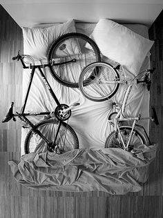 bicycles in bed | by nico piotto, italy | via the bicycle is art