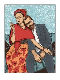Frida Kahlo- Band Of Horses – Concert Print By Jermaine Rogers