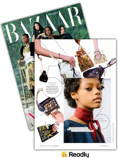 Suggestion about Harper's Bazaar - UK August 2016 page 70