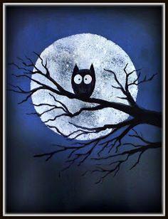PLATEAU ART STUDIO: Halloween owl