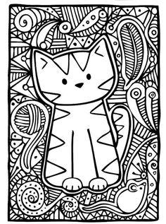 #cute kitty #indie art #cats #art Милый котенок Инди-арт Кошки арт