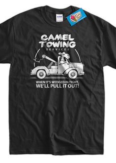 Funny Camel T-Shirt Gifts For Guys Camel Towing T-Shirt Gifts for Dad Screen Printed T-Shirt Tee Shirt T Shirt Mens Ladies Womens on Etsy, $14.99