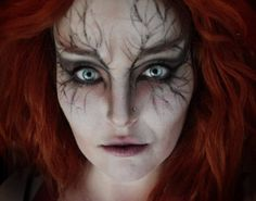 Just testing some different make-up ideas for the film I'm making. This character is a fortune teller who lives in the forest - she will also be wearing a prosthetic eye piece which will be a red c...