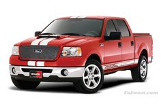Beautiful Shiny Red Ford F150 trucks that even a GMC Chevy guy must admire