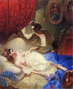 Dreams painted by Taras Shevchenko - 1840,Poltava (poem) Illustration-Wikipedia