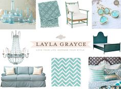 House of Turquoise: J. Hirsch Interior Design   Layla Grayce Giveaway!