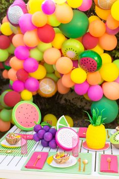 A Feelin' Fruity Garden Party! | studiodiy.com