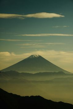 Mt.Fuji, Japan: photo by ウェーダーマン  #japan