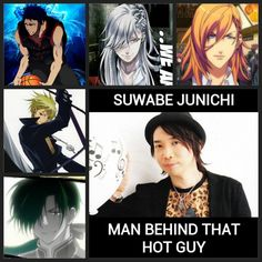 my fav seiyuu. you are so hot men <3