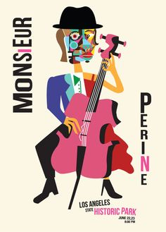 Monsieur Perine Graphic Art, 30th Birthday, Jazz, Posters, Concept, Wallpapers, City, Design, Album Covers