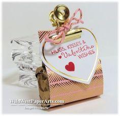 Alternate Idea using Filled with Love Paper Pumpkin 2015 January at WildWestPaperArts.com  #valentine #treat #paperpumpkin