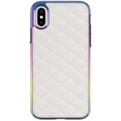 Quilted Love Case For iPhone X (64 PEN) ❤ liked on Polyvore featuring accessories and tech accessories