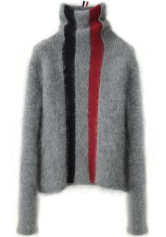 Thom Browne | Striped Turtleneck | La Garçonne
