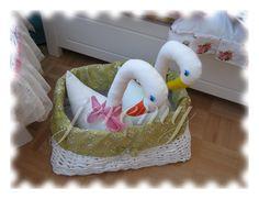 Husičky v košíku