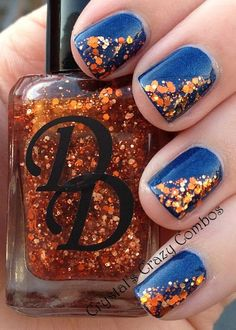 Are you looking for autumn fall nail colors design for this autumn? See our collection full of cute autumn fall nail matte colors design ideas and get inspired! Autumn Nails, Winter Nails, Fall Toe Nails, Simple Fall Nails, Fancy Nails, Trendy Nails, Sparkle Nails, November Nails, Nagellack Design