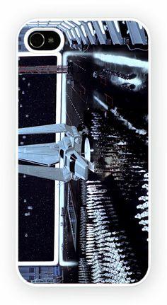 Star Wars: Episode VI - The Return of the Jedi - Shuttle Cas de telephone portable pour l'iPhone 4, 4S, 4, 5S, 5C et Samsung Galaxy S4 Retour couverture rigide - pas de telephone inclus Moule en polycarbonate dur couverture arriere avec l'image imprimee comme le montreCouleur impression directe est fondu et resistant aux rayures et offre une protection aux chocs et impactsSimple et facile snap sur l'installation d'un acces complet a la camera et portsGratuit Livraison dans le monde…