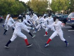 Dunwoody Fencing Club fencers joined in the 2017 World-Wide Fencing Flash Mob sponsored by the Italian Fencing Federation! #fencingmob #fencingmob17 #usfencing #fencing #scherma #fechten #escrime #worldfencingday2017