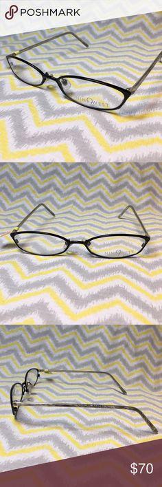 ef3b6c5b018f Shop Women s Nine West Black White size OS Glasses at a discounted price at  Poshmark. Description  New Nine West Black Salt Eyeglasses 51 X 16 X Sold  by ...