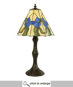 "Meyda 20.5""H Iris Accent Lamp [38139]  Got it!!!!!"