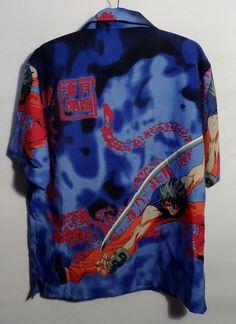 NWT BLUE HAWAIIAN PARADISE HAWAIIAN SHIRT BLUE sz S M L XL 2X 3X 4X 5X 6X