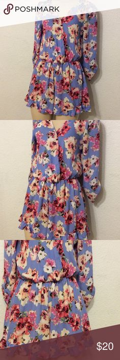 "STACCATO Floral Romper size L Floral Romper size L,  ( stretchy waist ) 40"" inches around  bust,   3/4 sleeve, 33"" length,  fits someone size 11/12 in dresses,     ( FIRM PRICE). Thank you for looking, please check out my other items. STACCATO Other"