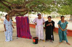 Mujeres artesanas wayuu
