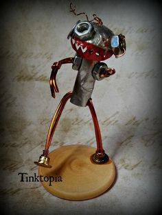 Check out this item in my Etsy shop https://www.etsy.com/uk/listing/237318611/tinktopia-zom-bot-tiny-hand-made-zombie