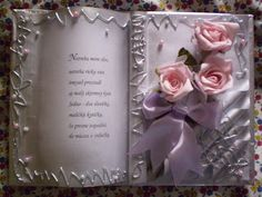 Alex creative: Gratulačná kniha Book Crafts, Hobbies And Crafts, Crafts To Make, Book Folding, Paper Folding, Altered Book Art, Decoupage Tutorial, Altered Bottles, Journal