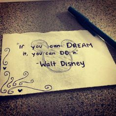 if you can dream it, inspiration from Disney