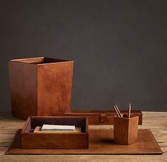 Leather Desk Accessories                                                                                                                                                                                 More