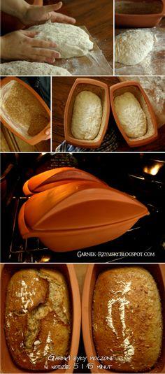 Garnek Rzymski: Chleb pszenno - żytni