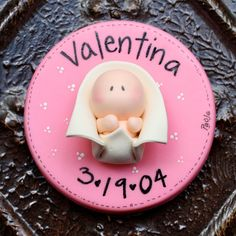 Birth Announcements   Baptism Favor Keepsake Magnets por gavo,