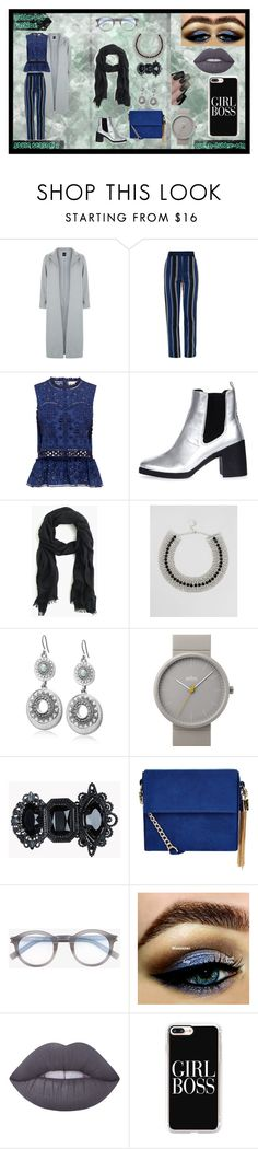 """""""Bubble-Pop Fashion #4"""" by queen-bubble-ldn on Polyvore featuring New Look, Proenza Schouler, Sea, New York, Topshop, J.Crew, Krystal, Lucky Brand, Braun, Dsquared2 and Yves Saint Laurent"""