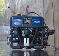 3D Printed Part for Hydro Québec's Remotely Operated Underwater Vehicle (ROV)