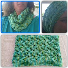 Ravelry: My First Wave pattern by Kris Alves Knitting Patterns Free, Knit Patterns, Free Knitting, One Wave, Wave Pattern, Ravelry, Knit Crochet, Waves, Infinity