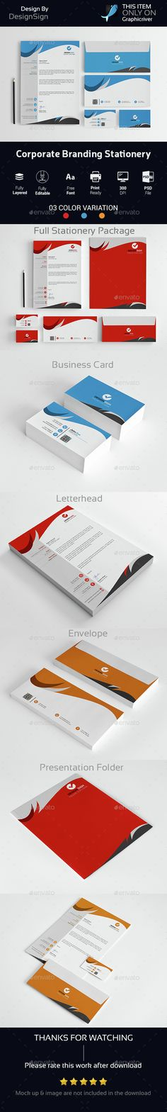 Corporate Branding Stationery Vol-04