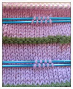 TECHknitting: Steeks, beta version, part 3: real world tricks and tips