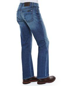 Carolina Vintage Denim Jeans, Blue