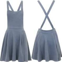 how to make a dungaree skater dress - Google Search
