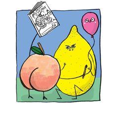 . Mixed Fruit, Collaboration, Comics, Sweet, Instagram, Candy, Cartoons, Comic, Comics And Cartoons