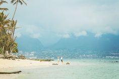 Magically Intimate beach-Upcountry DIY Backyard Maui Wedding} Hawaii Photographer : www.angiediazphotography.com
