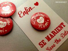 Personnalisé vintage poule nuit fête d/'anniversaire badge miroir cadeau badges