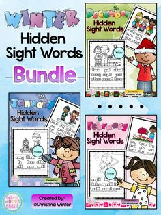 Hidden Sight Words~