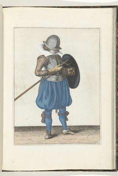 De exercitie met schild en spies no. 15 (1618)