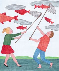 Marion Fayolle  So whimsical - I love it